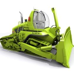 Grasshopper bulldozer by Pope Design.