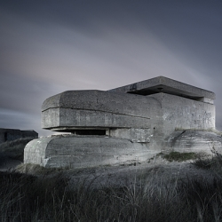 Abandoned World War 2 Bunkers, a photographic series by Amsterdam photographer Jonathan Andrew.