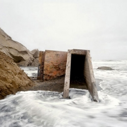Bunkers: Ruins of War in a New American Landscape is a collection by photographer Alex Fradkin that captures the architecture of war along the coast of the San Francisco Bay area.