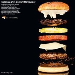 Modernist Cuisine and the Wall Street Journal present this interactive hamburger.