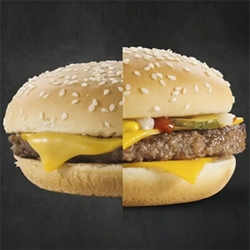 McDonald's shares an inside look it what it takes to make their burgers look good in a picture.