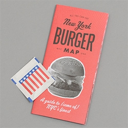 The All You Can Eat Press New York Burger Map