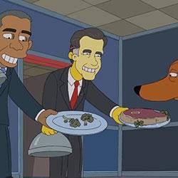 The Simpson's Mr Burns for Mitt Romney ad...