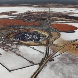 Canadian photographer Edward Burtynsky defines 'epic' in images. His latest project covers the nickel pit mines of Western Australia. Amazing landscape shots.