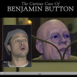 The Curious Case of Benjamin Button. There's more to it than the great story. Behind the scenes as to HOW they made Brad Pitt look so old.  Not what most people thought.