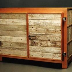 Piet Hein Eeek's beautiful furniture made from reclaimed wood.