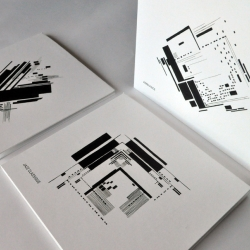 "How can a static graphic image can express music? Here are some results of ""basic graphic design"" applied to the basic packaging."