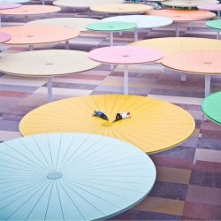 ParedesPino Architects have completed a project in Cordoba, Spain that features an urban forest of parasols.