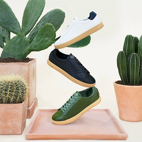 CLAE Bradley Cactus Collection - shoes made with a 100% Organic Cactus leather upper!