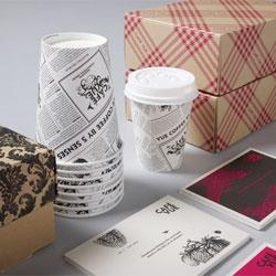 Packaging for Cafe Vue by Designworks.