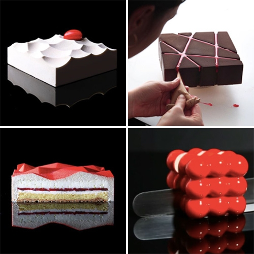 Architecture meets pastry with the works of Dinara Kasko.