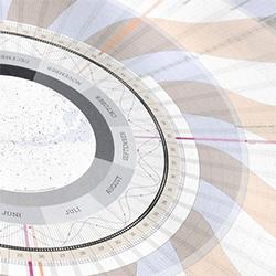 Anaptár 2015: lunar and solar cycles calendar system.