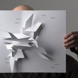 Beautiful concept of Pop-up calendar, by Johann Volkmer.