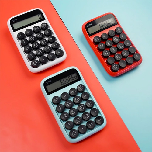 Lofree Digit Calculator: The Retro Mechanical Calculator. Now on kickstarter.