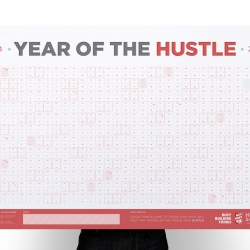 Everyday Hustlin' 2014 Calendar from Busy Building Things
