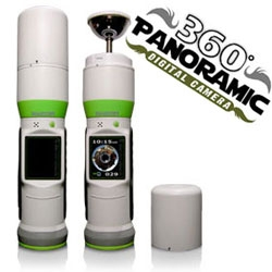 Bubblescope camera for all your 360 degree point and shoot needs