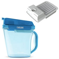 "CamelBak Relay ~ the latest addition to the water filter jug market. Apparently it can ""filter water 10X faster than the leading competitor."""