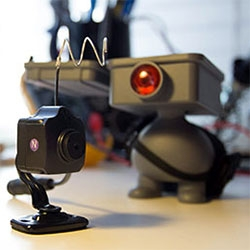 Toy Hack! This Project Squadt K11 Boomer by Ferg is now a functioning spy camera! The latest from NOTlabs, see the making of and video of it in action.