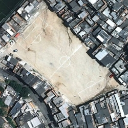 """Joachim Schmid's book 'O Campo' is a photographic compilation of football fields in Brazilian cities."