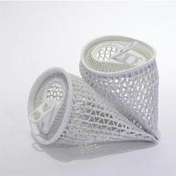 Yoshio Hasegawa's intricate paper soda can sculptures.