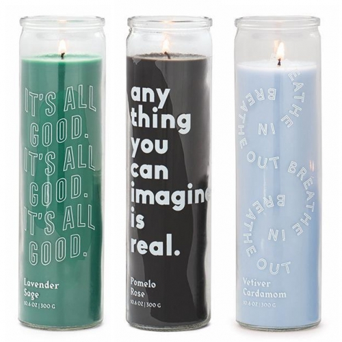 Paddywax's Spark Candle collection - a little dose of wishful thinking and lovely scents to help you at home (or for someone that needs a surprise pick-me-up?)
