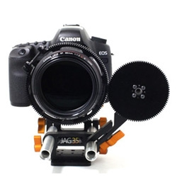 Check out the new electronic Follow Focus from Jag35 - Also pretty affordable!