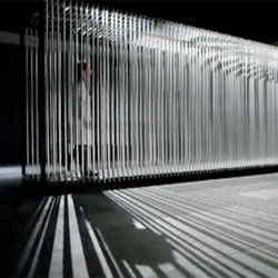 Tunnel, a kinetic sculpture by the Cantoni-Crescenti (Rejane Cantoni and Leonardo Crescenti).