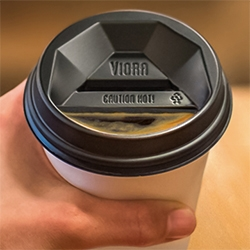 The Viora Lid - and updated design to the to-go coffee cup lid