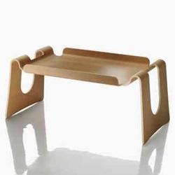 Magis' Cappucino bent ply breakfast in bed tray/low desk is back!