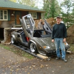 Ken Imhoff's Hand-Made Lamborghini Built In Basement Finally Sees Light Of Day
