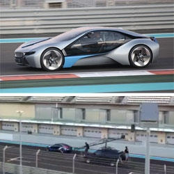 BMW Vision EfficientDynamics spotted in Abu Dhabi