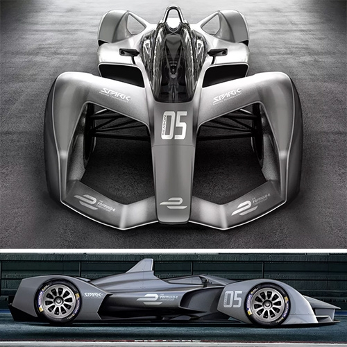 Spark Racing Technology's SRT05e is a stunning concept for a Formula E Season 5 race car.