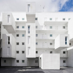 Dos Mas Uno Arquitectos designed this amazing social housing complex in Spain.