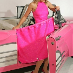 Sheilas' Wheels, the UK car insurance company for women, has invented a car curtain to protect the motorist's modesty when exiting her vehicle.  Inspired by Britney and Lindsay Lohan apparently.