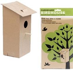 Cardboard Birdhouse!