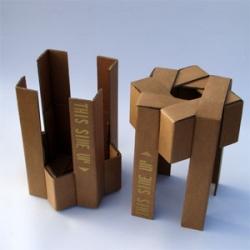 more cardboard box furniture