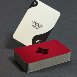 A modern redesign of the standard deck of playing cards. The challenge being to simplify by using familiar elements while still keeping the deck playable