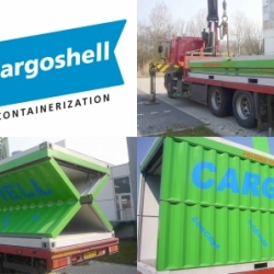 The Cargoshell: ingenious collapsible replacement for the standard shipping container
