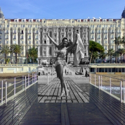Cannes Film Festival, then and now. Classic photos of the place and the people. Great shots of hollywood legends.