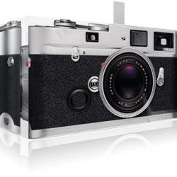 Likea is a pinhole camera made to look like a Leica camera.