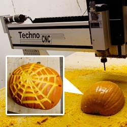 Highspeed Pumpkin Carving~ Knowhow Shop gets in the holiday spirit with some precision CNC milling to carve pumpkins.