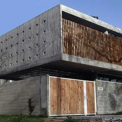 Concrete House in Montevideo, Uruguay by G+ Arquitectos