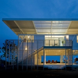 Casa Iseami from Architect Juan Robles in Playa Carate, Costa Rica.