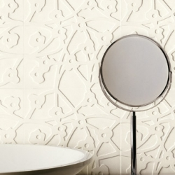 Sweet surface design on these TreD ceramic tiles from Casamood.