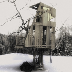 La casa sull'albero is group of italian architects  which features  some well designed treehouses  in his portfolio.