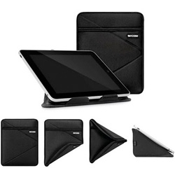 The Origami Stand Sleeve from Incase which also acts as a iPad stand.