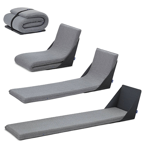 The Casper Lounger - A Casper College Exclusive at Target. Interesting multipurpose piece. Includes collapsible shell, foam base, and elastic band make storage easy