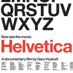 Helvetica: finally a documentary for typography enthusiasts! If you live in new york or toronto you can catch it next month. [Editors Note: about time! its been hyped for a while now]