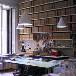 The design-studio of Achille Castiglioni, where he worked, lived and inspired design culture. Help the Castiglioni family keep it open by stopping by to visit the museum when you are in Milan.