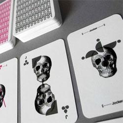 Barebones playing cards by Mattia Castiglioni.